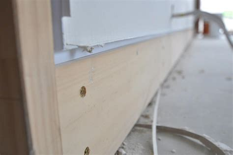 shadow bead drywall shadow reveal baseboard page 2 drywall finishing