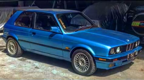 Modifikasi Mobil Hatchback by Modifikasi Bmw E30 Custom Hatchback Mobil Motor Lama