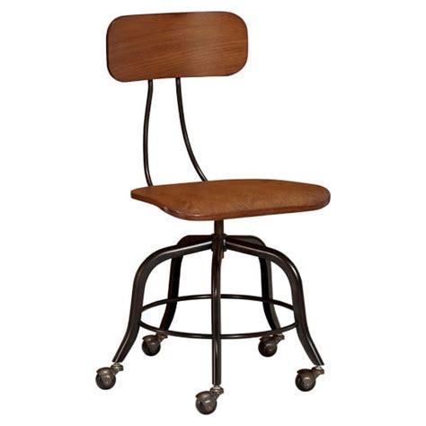 wooden swivel chair vintage wood swivel chair pbteen
