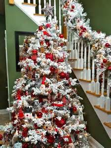 snow flocked tree best 20 flocked trees ideas on