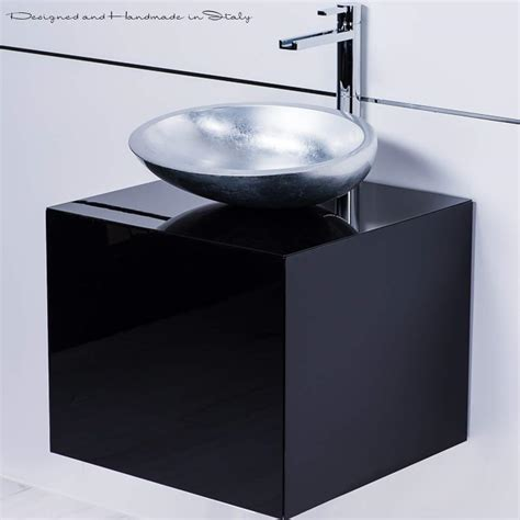 20 inch bathroom vanity with sink modern italian 20 inch vanity sink combo black and silver