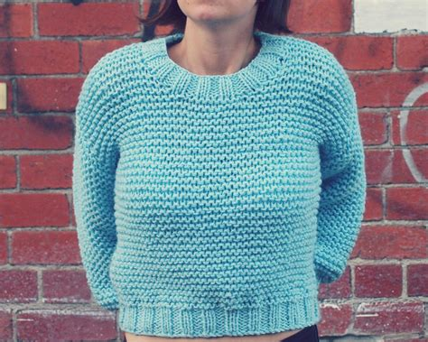 easy knitting pattern for sweater patterns to make knitting garter stitch not boring