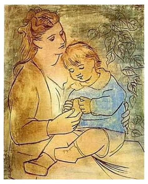 picasso paintings as a child adoption education a real view