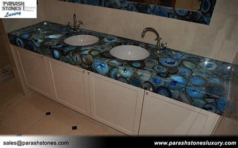 Cheapest Kitchen Cabinet semi precious stone slab furniture wholesale price