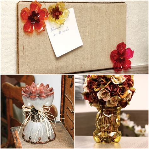 easy and craft ideas for home decor 3 easy craft ideas for recycling plastic bottles in the