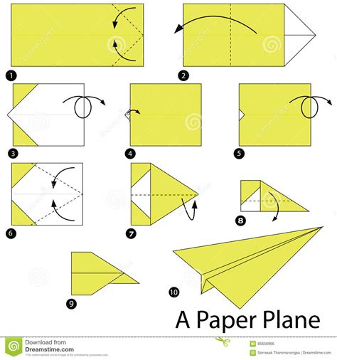 how to make origami paper plane step by step how to make origami a paper