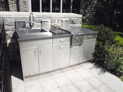 outdoor kitchen cabinets stainless steel stainless steel outdoor countertops custom
