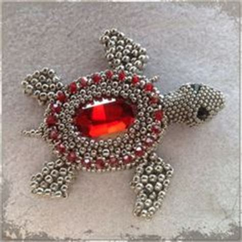 3d beaded turtle pattern beaded 3d animals on beaded animals beadwork