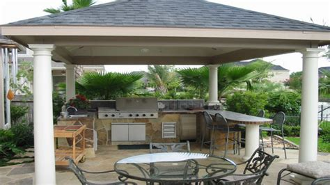 covered outdoor kitchen designs backyard patio covered outdoor kitchens and bars