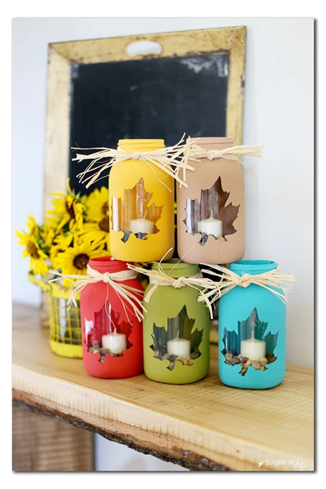 craft gifts for fall jar craft bigdiyideas