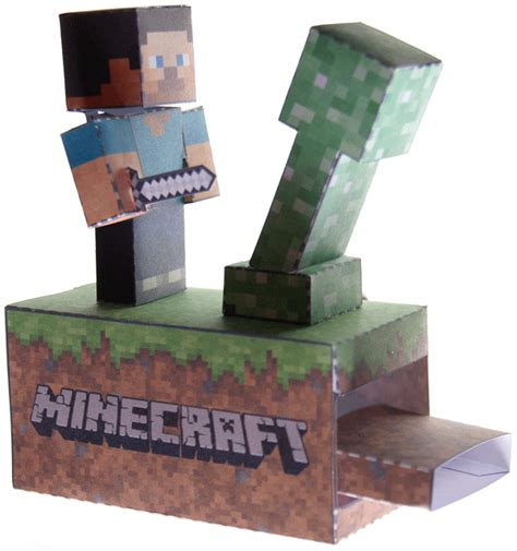 paper craft machine minecraft machine papercraft papercraft paradise