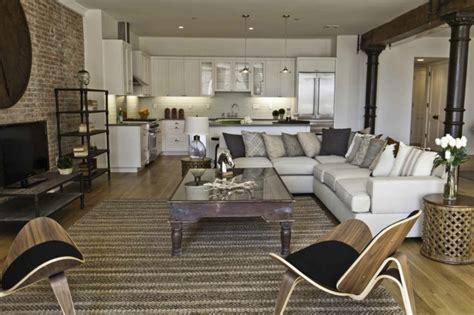 Decoration Pictures For Living Room by Le Meuble Tv Style Industriel En 50 Images Archzine Fr