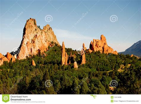 Garden Of The Gods Time Garden Of Gods Royalty Free Stock Photos Image 15414638