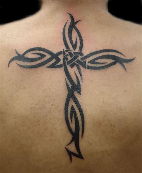 25 beautiful tribal cross tattoos ideas on pinterest