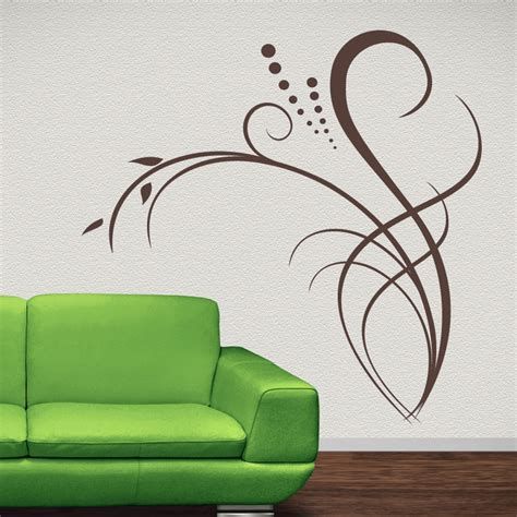 Wall Sticker Decor floral decor flowers wall decal wall art stickers