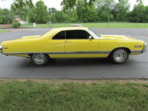 paint with a twist saginaw beautiful 1971 chrysler new yorker 440 a t lemon twist a c