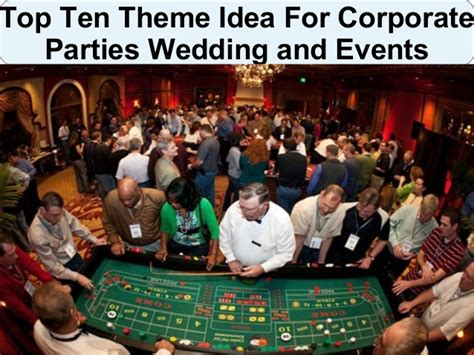 ideas for corporate theme ideas for corporate weddings and events