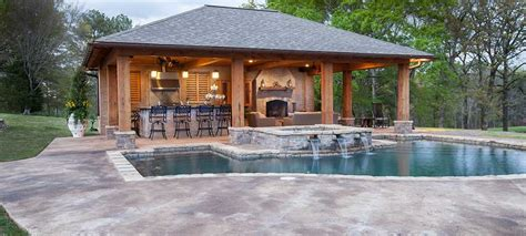 pool house plans with bathroom pool house designs outdoor solutions jackson ms