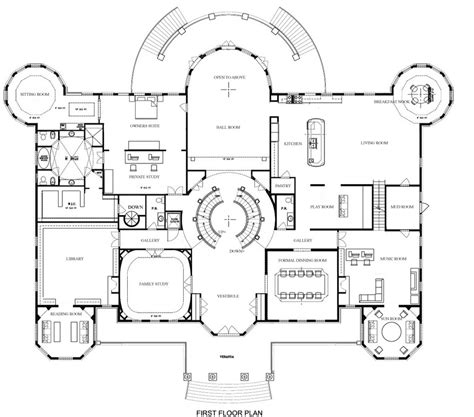 floor plans mansions georgian colonial mansion floor plan