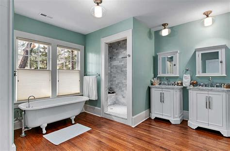 cool bathroom colors cool paint color for bathroom with white vanity cabinets