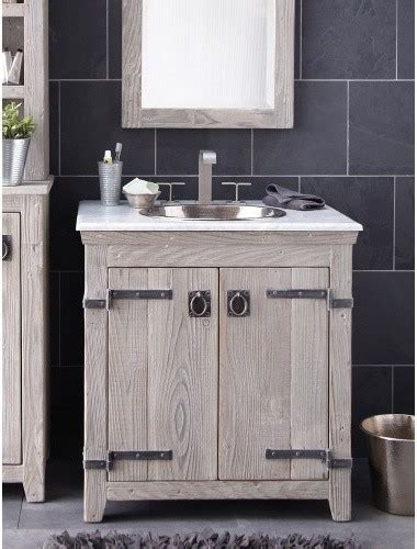 driftwood bathroom vanity 30 quot americana vanity in driftwood bathroom vanities and