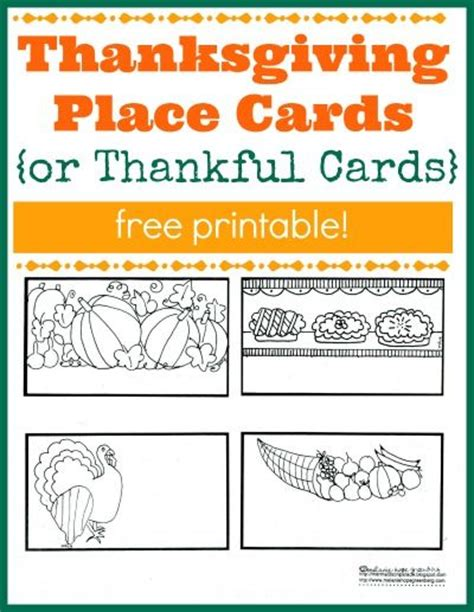make place cards free 1000 images about thanksgiving on