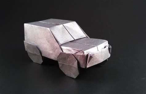 how to make a origami car origami cars gilad s origami page