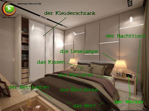 Bedroom Paint Ideas Pictures vokabeln das schlafzimmer easydeutsch