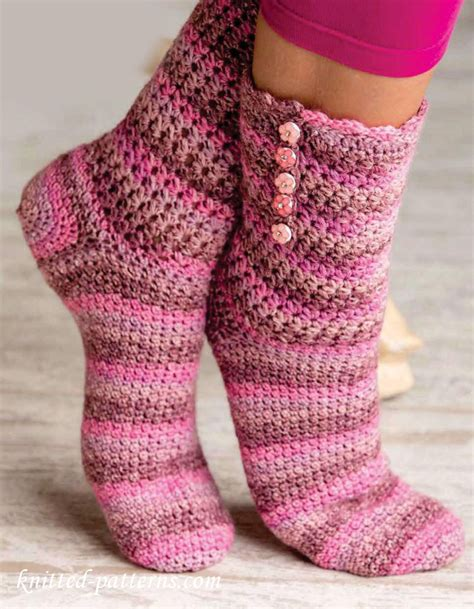 socks knitting pattern free crochet socks pattern free