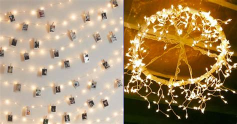 diy string lights 40 cool diy ideas with string lights diy projects for