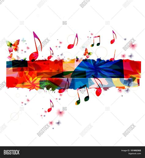 how to create a good flyer creative music template vector image amp photo bigstock