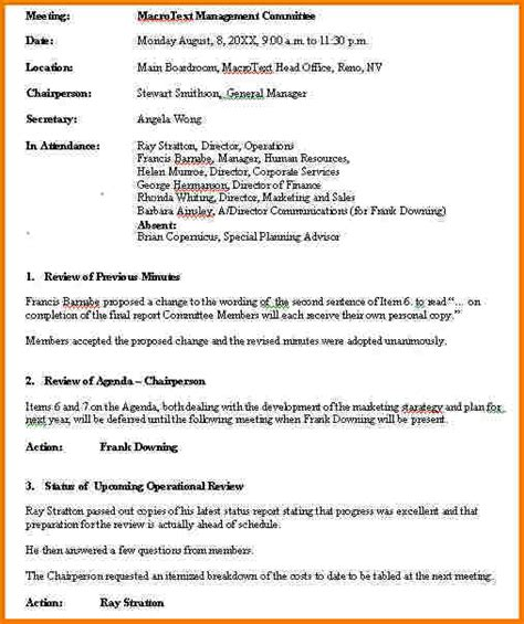 meeting notes sample authorization letter pdf