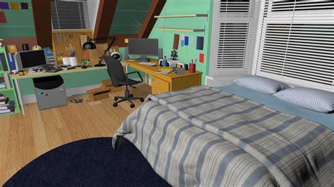 House Design Software 3d Download big hero 6 hiro hamada s room 2 by thoranin on deviantart