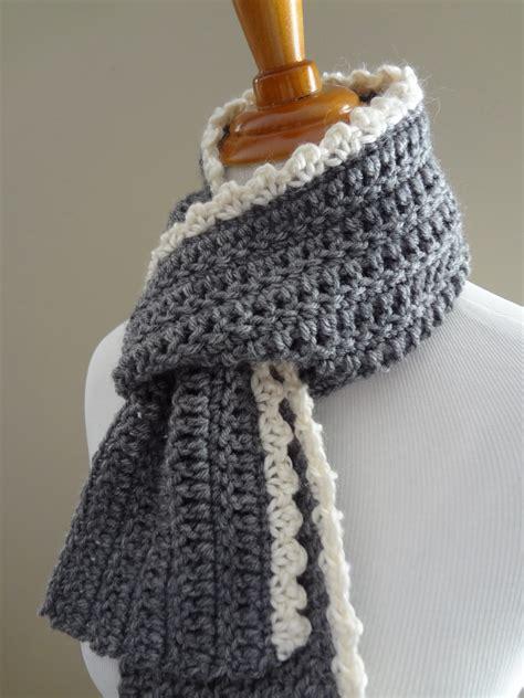 scarf pattern free fiber flux free crochet pattern ingrid scarf