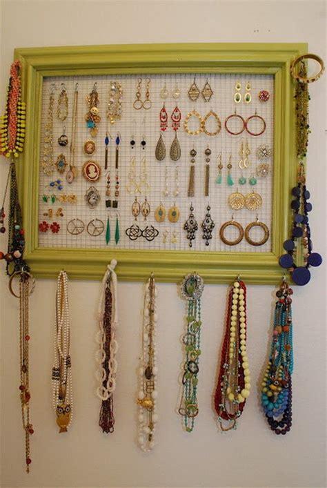 jewelry organization ideas 30 brilliant diy jewelry storage display ideas for