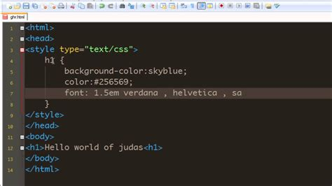 add color css tutorial 22 adding a background color to heading mp4