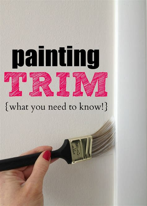 what can you paint at painting with a twist livelovediy painting trim walls what you need to