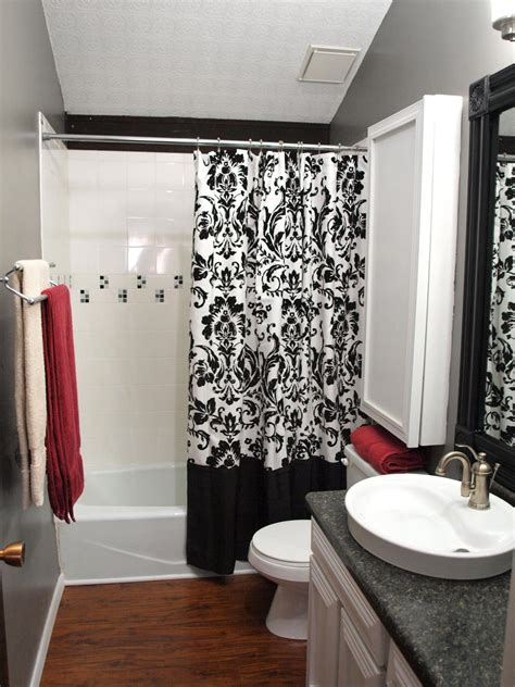 white and black bathroom ideas black and white bathrooms hgtv