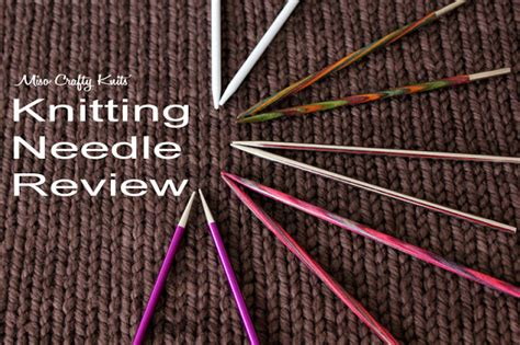 knitting review miso crafty knits knitterly things signature needle