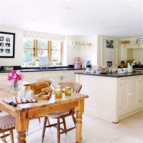 kitchen decorating ideas uk open plan kitchen diner with butcher s block unit open