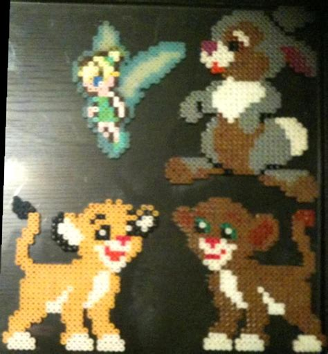 perler disney perler bead creations disney by rhys michael on deviantart