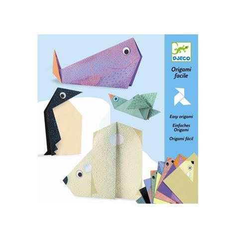 origami paper toys origami polar animals djeco djc 38777 kinuma