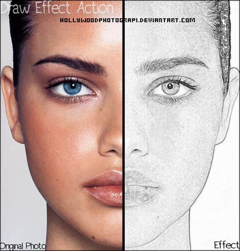 drawing in photoshop draw effect photoshop by hollywoodphotograpi on