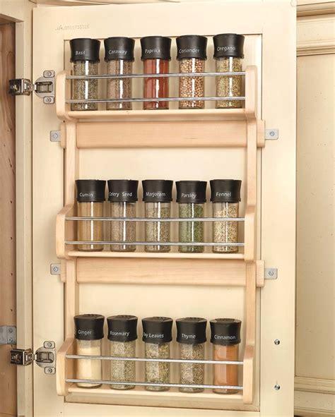 inside cabinet door spice rack 13 inch door mount spice rack 4sr 18