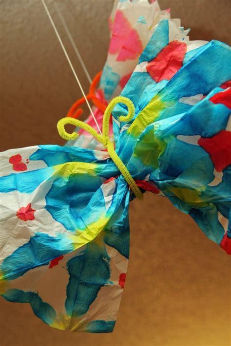 tie dye paper craft tie dye butterfly pi ikea st