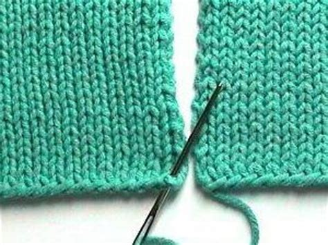 knitting seams together mattress seam scuola di knitting cuciture