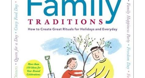 picture books about family traditions meg cox how to create great rituals celebrant mag