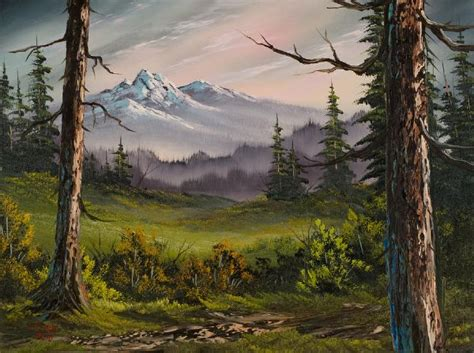 painting by bob ross for sale bob ross meadow view paintings for sale bob ross meadow