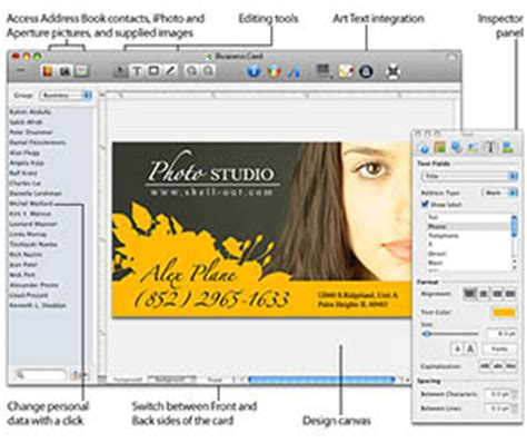 software to make business cards free business card design software postcardsrus
