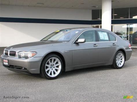 745i 2002 Bmw by 2002 Bmw 7 Series 745i Sedan In Titanium Grey Metallic